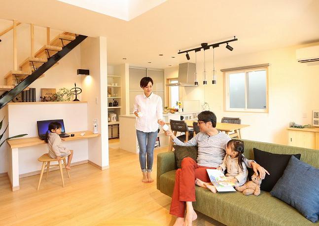マイホームが家族の現在と将来のライフスタイルに合っている