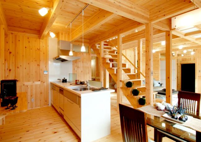 自然素材の家 日々木